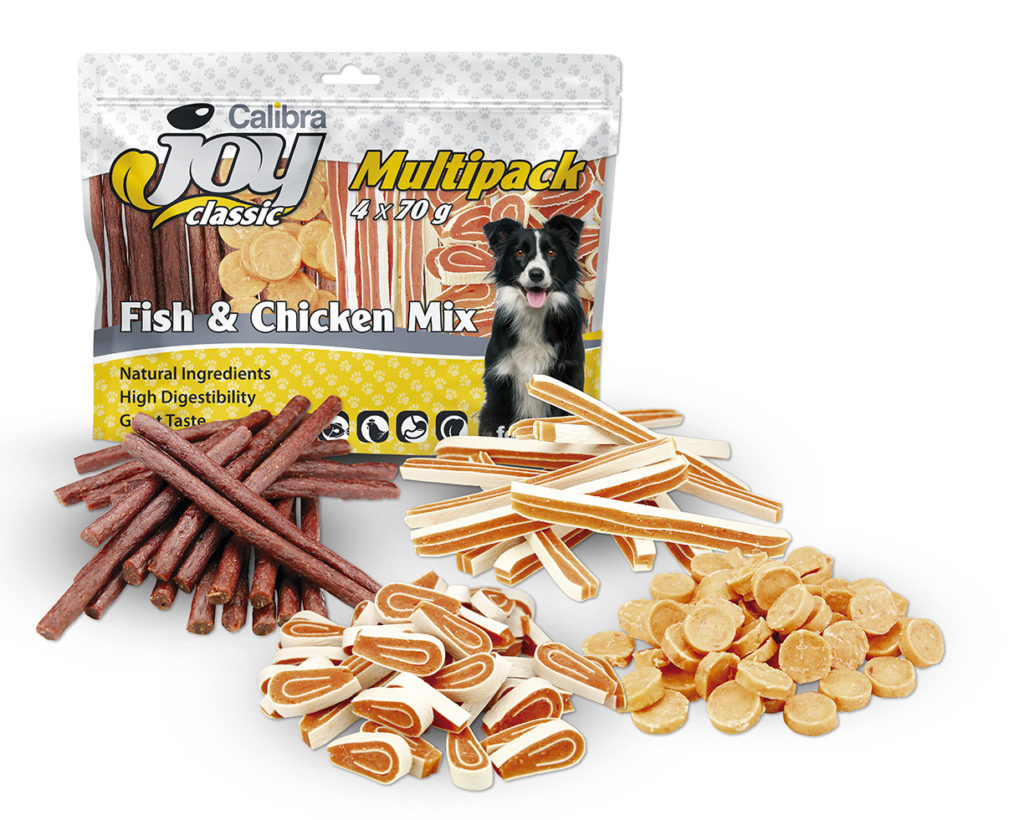 Joy Multipack Fish and Chicken mix