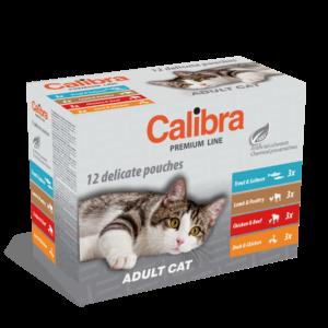 Calibra multipack cat adult